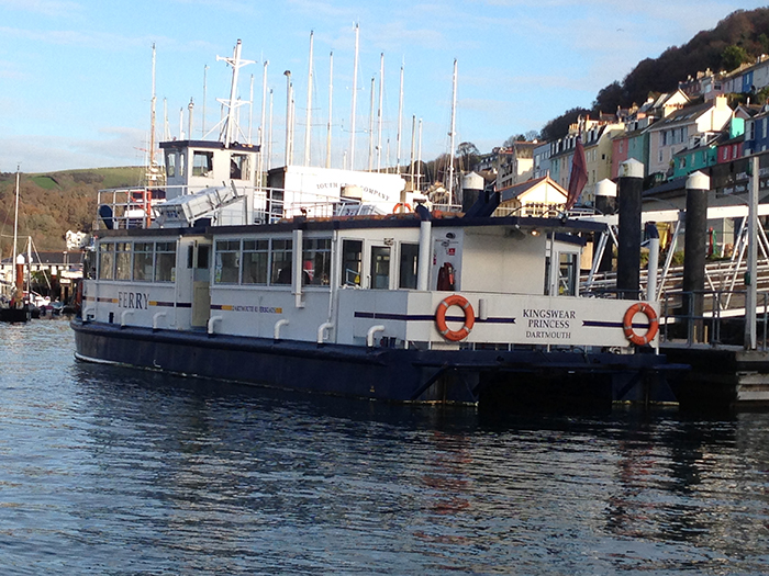 Kingswear Ferry restored