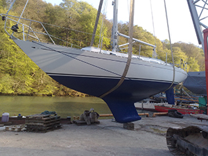 Yacht Restoration Work